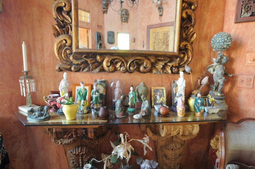 Artwork and Collectibles in the Manor House at the Village Latch Inn